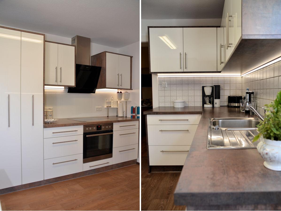 k chen 2 zeiler. Black Bedroom Furniture Sets. Home Design Ideas